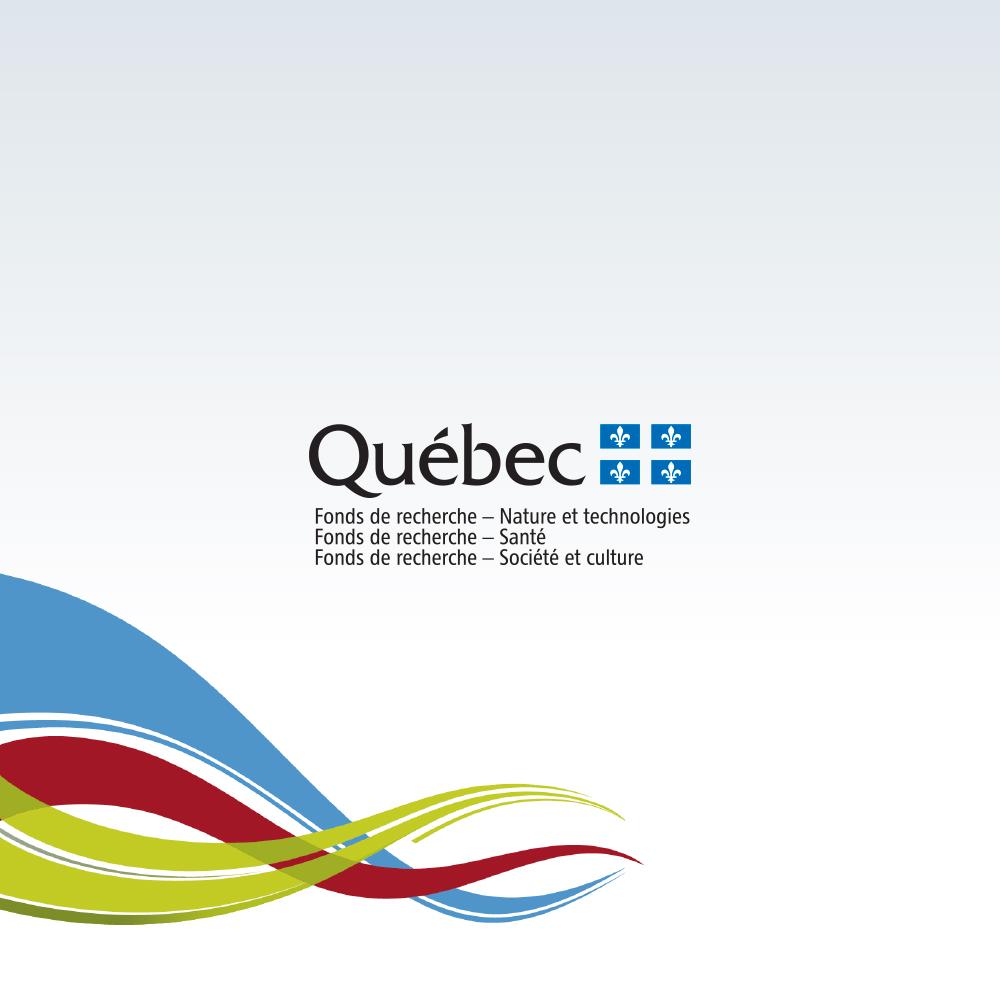 Macadam et les Fonds de recherche du Québec font équipe